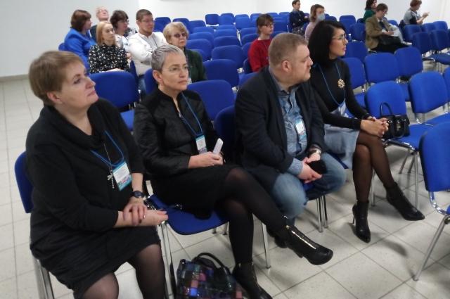 На мастер-класс пришли руководители пермских медучреждений, организаций и врачи