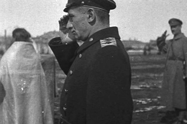 Верховный правитель России адмирал Колчак. Омск, апрель 1919 года.