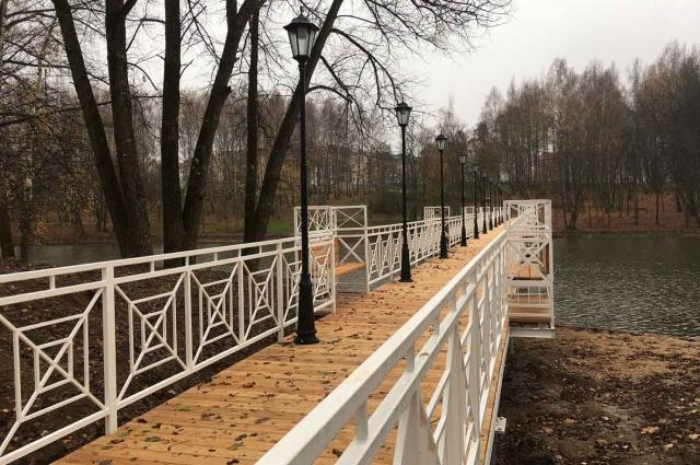 Парк «Соловьиная роща» в ближайшее время будет принят на баланс города.