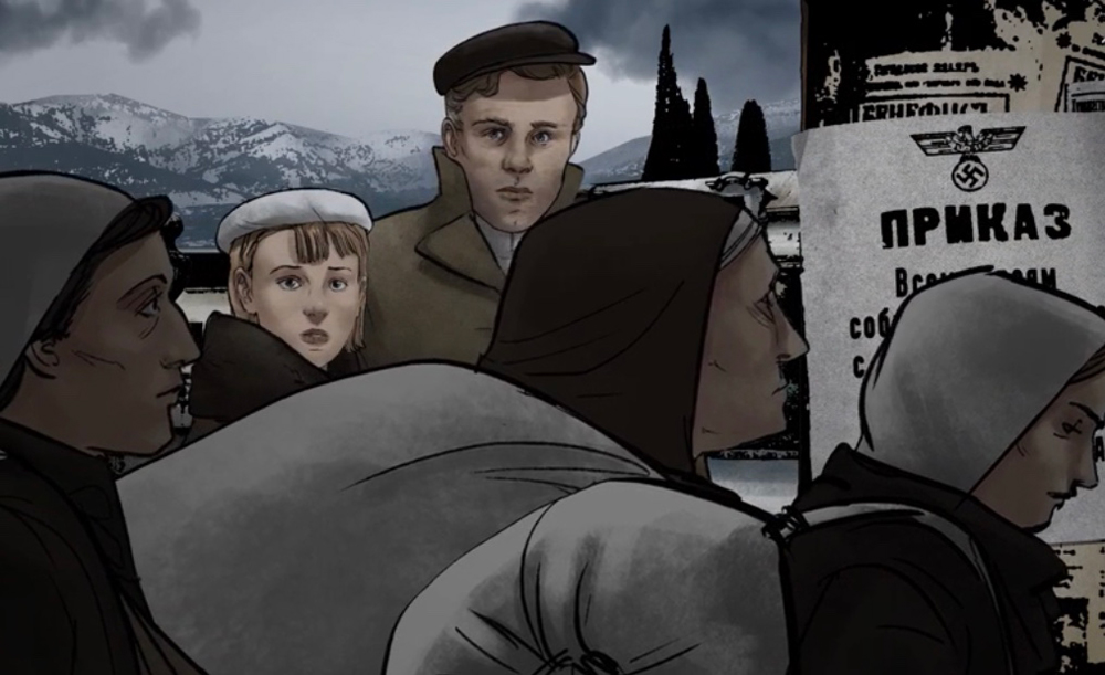 Повесили приказ: «Всем евреям собраться в гестапо с вещами в течение 3-х дней». /