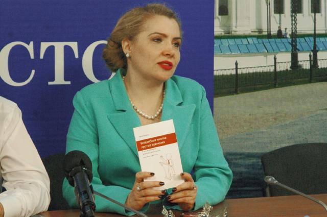 Основатель института публичных выступлений и конфликтологии Ирина Баржак.