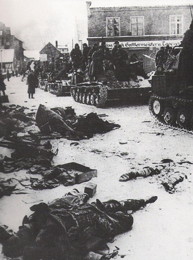 Советские войска вошли в Германию (январь 1945 г.)