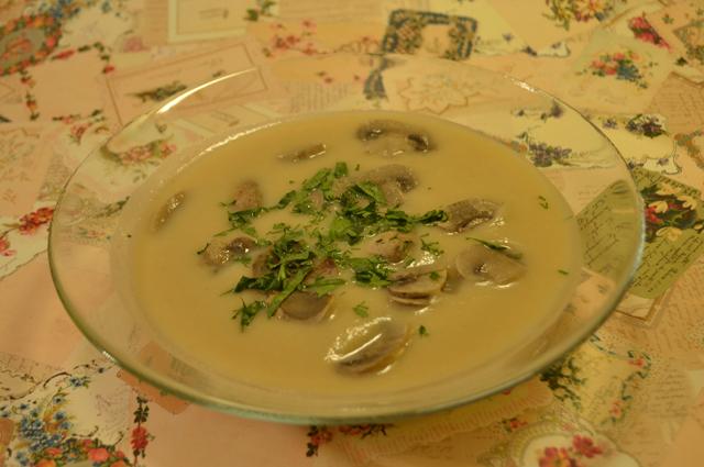 Суп-пюре польский