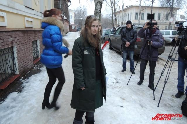 Марию Алёхину освободили утром 23 декабря