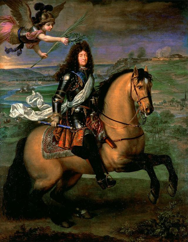 Людовик XIV при осаде Намюра (1692).