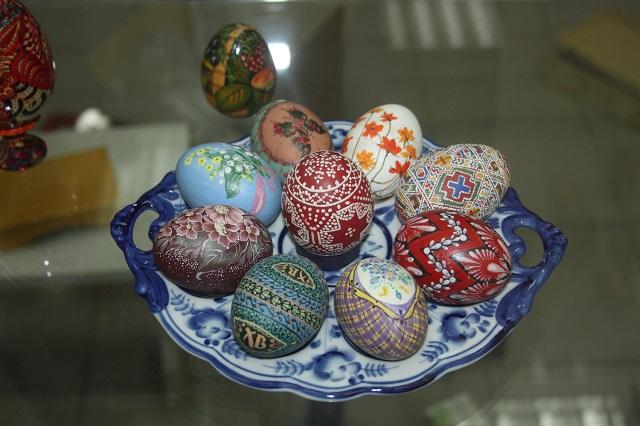Пасхальные яйца тоже могут быть настоящим произведением искусства.