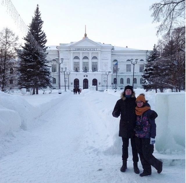 Томск - город студентов.