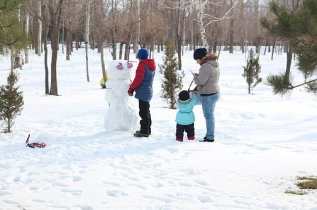 В парках ждут на прогулки всей семьей.