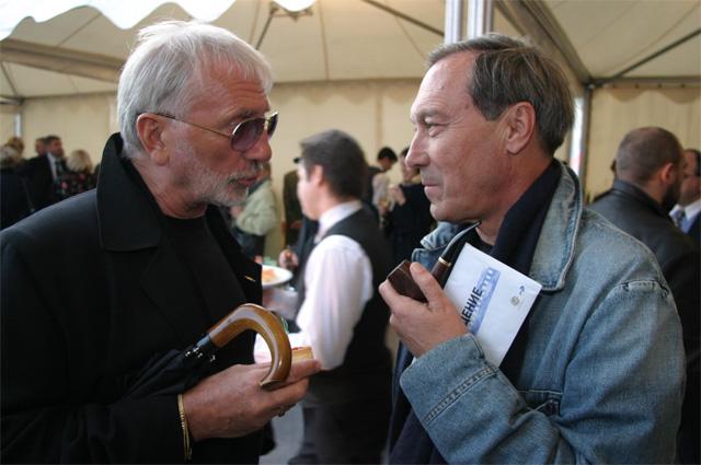 Виктор Мережко и Олег Янковский