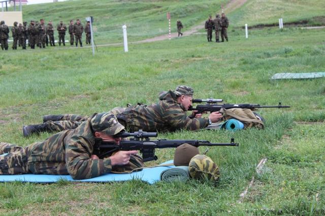 Бойцы ОМОНа часто выезжают на учения.