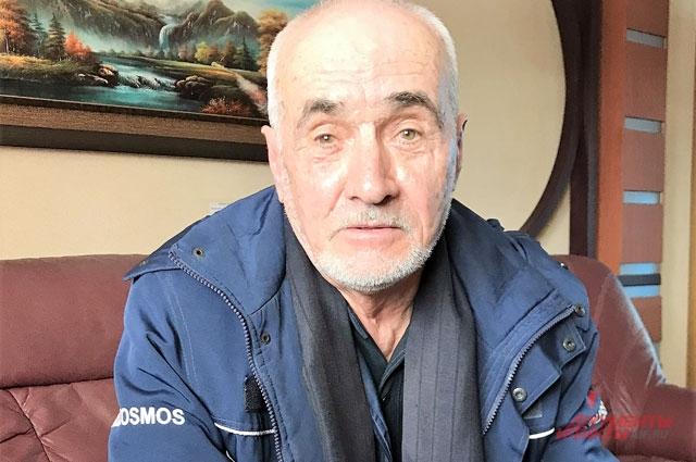 Ветеран космодрома Константин Курский.