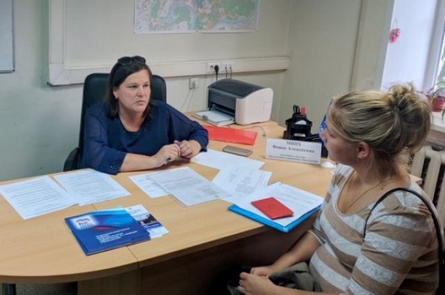 Фаина Минх консультировала жителей района по вопросам ЖКХ