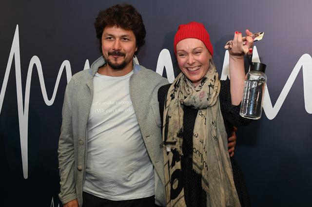 Ольга Ломоносова с супругом.