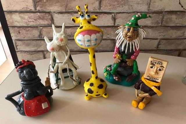 Необычные сувениры Ирины Мусатовой