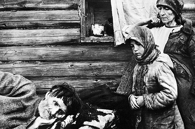 Голод на Украине в 1932 году.