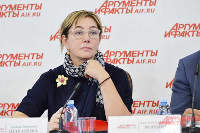 Арина Шарапова, тележурналист, президент АНО «Артмедиаобразование»— школа Арины Шараповой.
