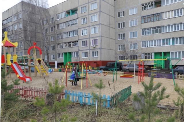 Площадку сделали по программе инициативного бюджетирования