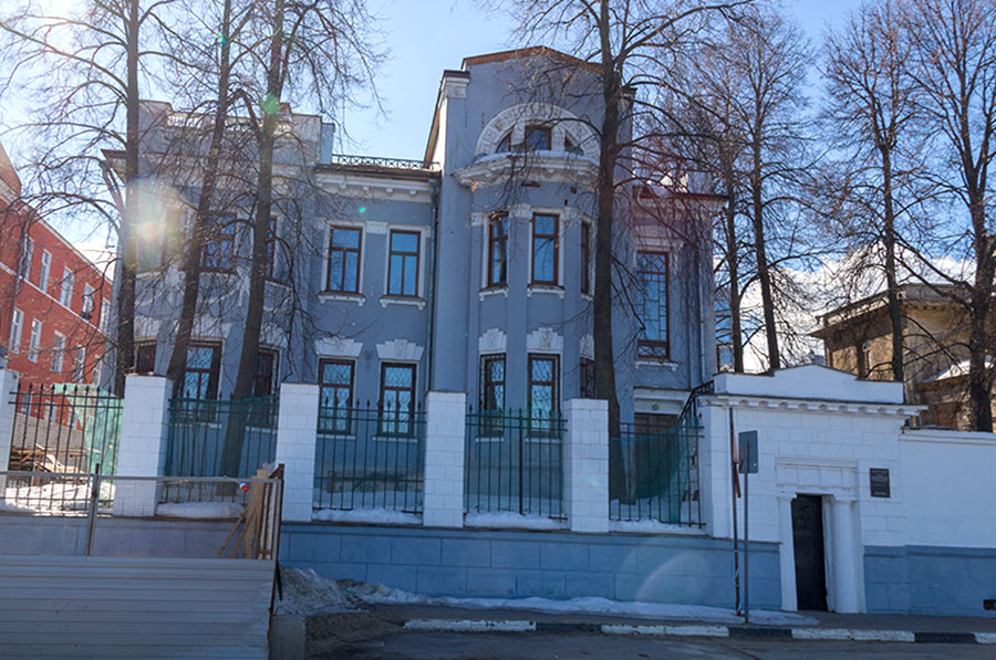 Особняк Кабачинского вновь выставлен на продажу.