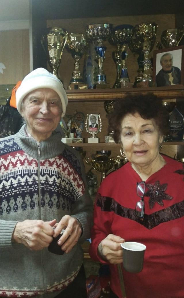Нина Алексеевна и Вадим Федорович вместе 45 лет.