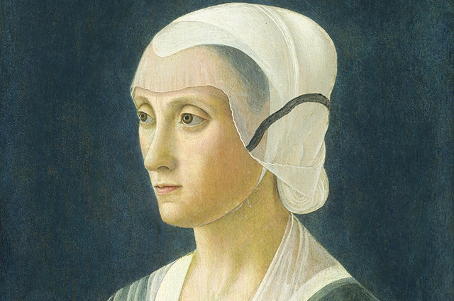 Портрет Лукреции Торнабуони, предположительно, атрибутированный кисти Гирландайо. Национальная галерея, Вашингтон