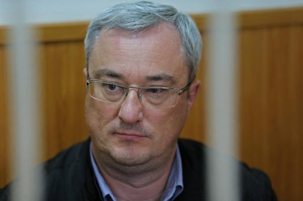 Глава Республики Коми Вячеслав Гайзер в Басманном суде города Москвы.
