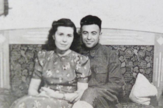 Анна Филиппова со вторым мужем