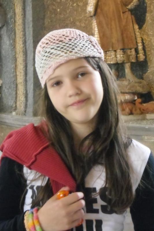 Дарья Саморукова учится в музыкальной школе и занимается танцами.