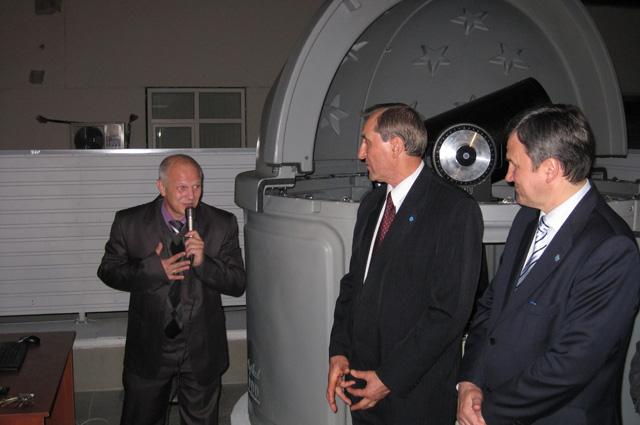 Главный астроном Кубани благодарен руководству университета за то, что обсерватория получила второе рождение.