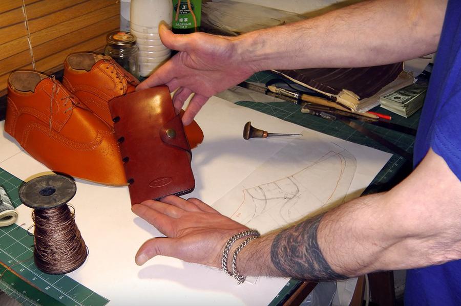 Обувь ручного изготовления