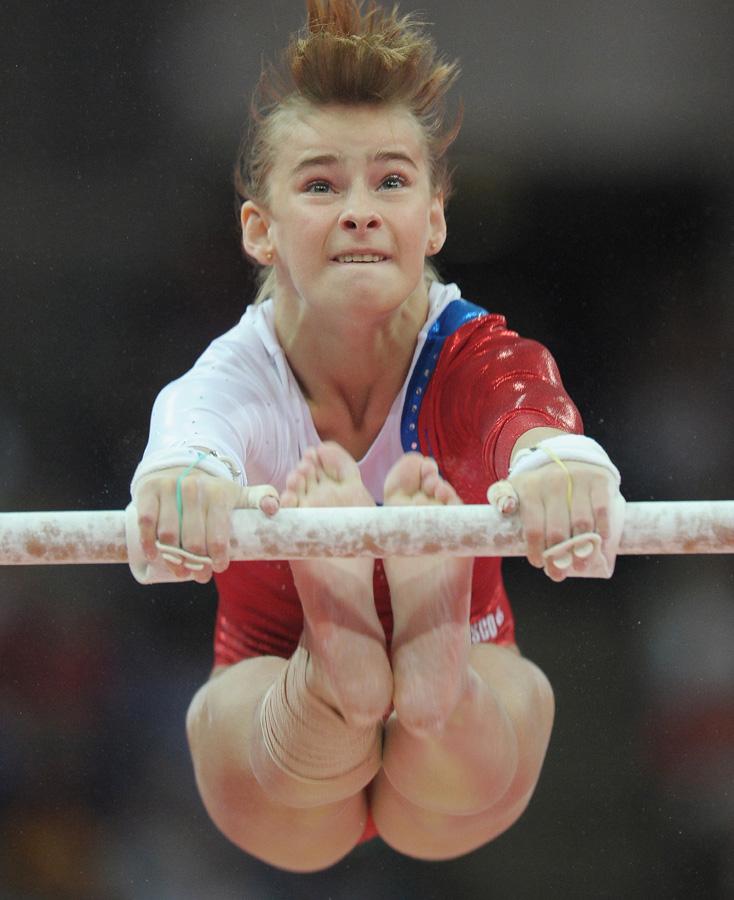 На Олимпиаде в Лондоне Гришина выступила неудачно.