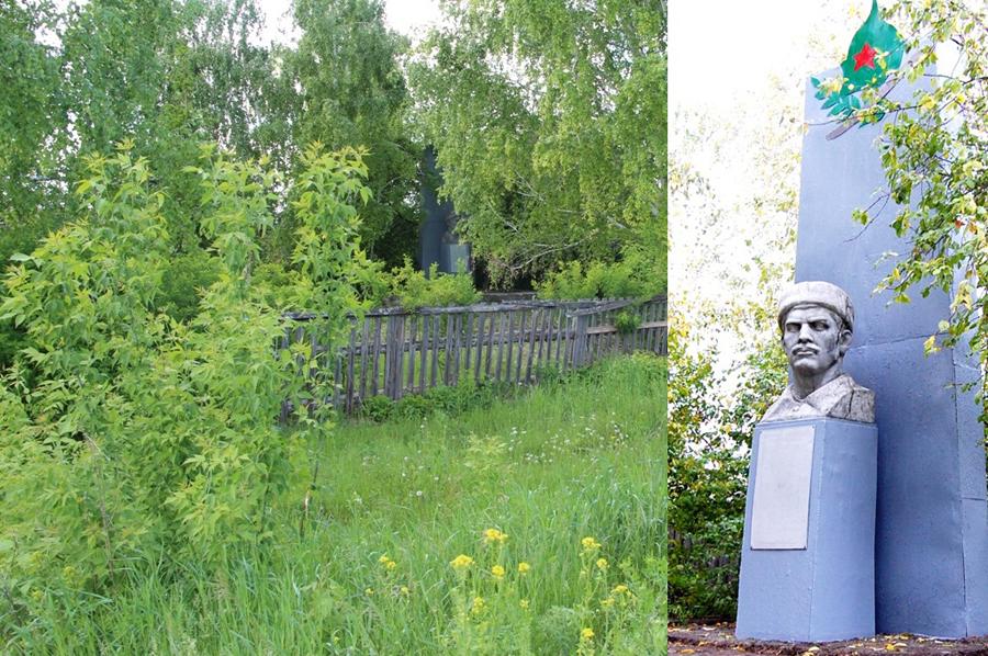 В своём блоге Шарпудин Хаутиев постоянно выкладывает посты о нарушениях охраны памятников. Вот свежий пример из Вешкаймского района: собственник памятника революционеру Репинскому перегородил  к нему доступ забором. Теперь откроет его по решению суда.
