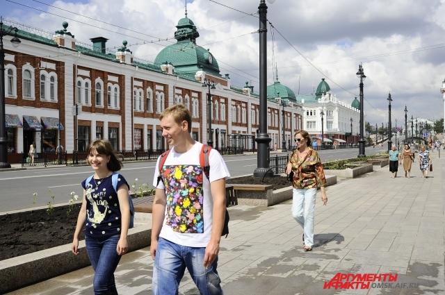 Омску нужна молодёжь для развития региона.
