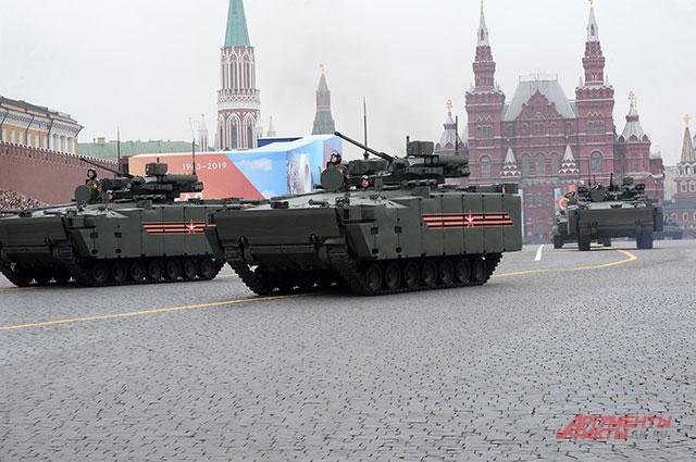Боевая машина пехоты (БМП) нагусеничной платформе «Курганец-25».