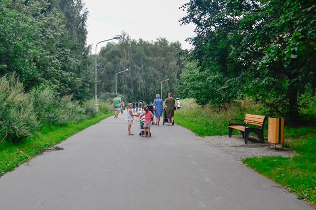 Протяжённость аллеи «Дорога жизни»– 3,5 км.