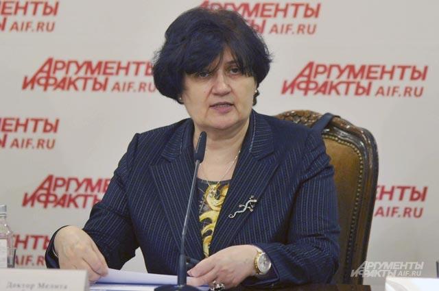 Мелита Вуйнович, представитель ВОЗ вРоссийской Федерации.