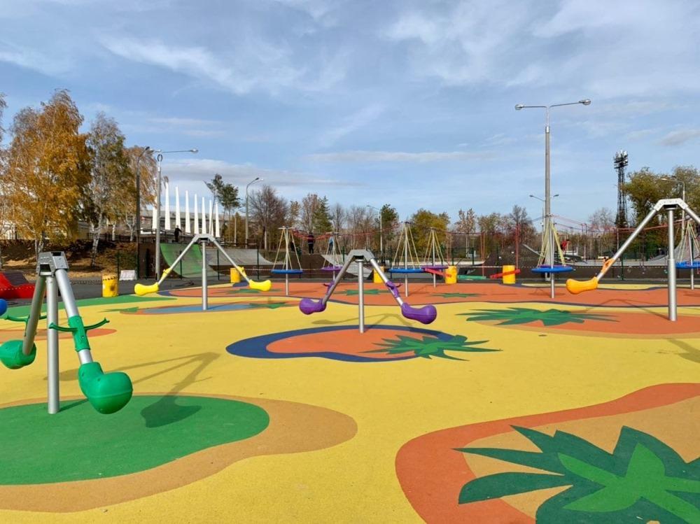 Новая детская площадка.
