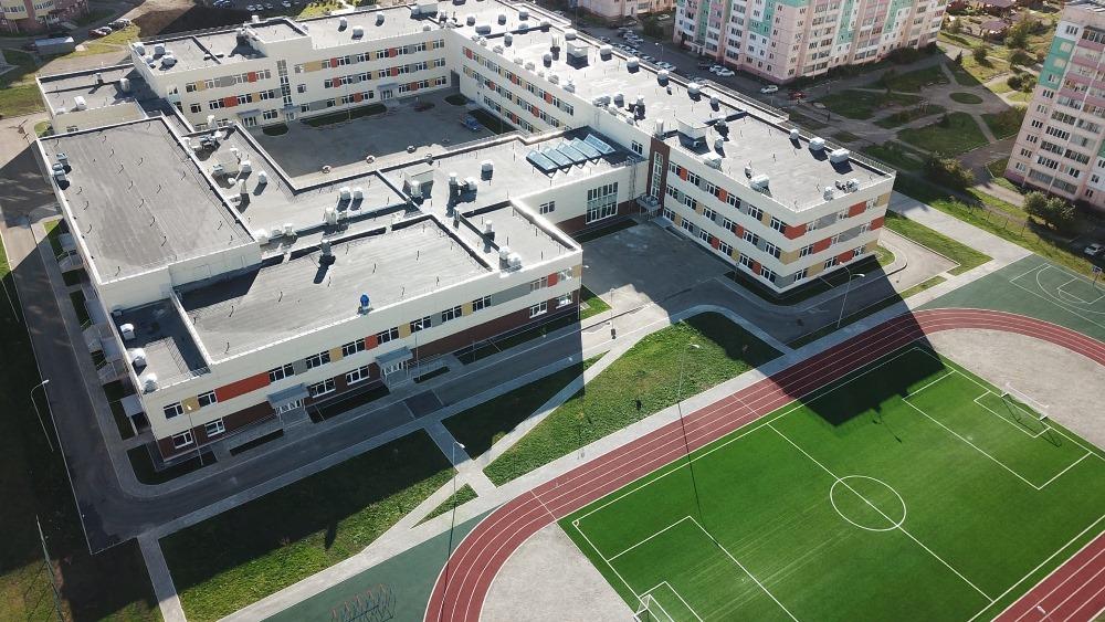 В Магнитогорске строятся новые школы.