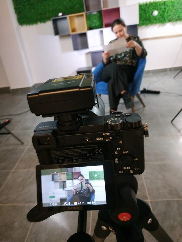 Запись видео-уроков для пациентов