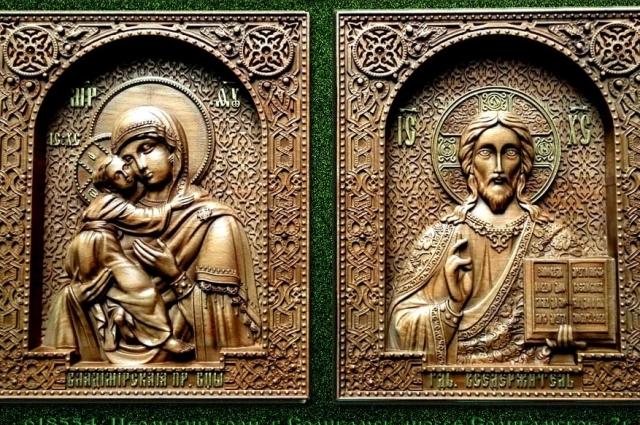 Владимир Марушевский изготовил уже более 200 икон.