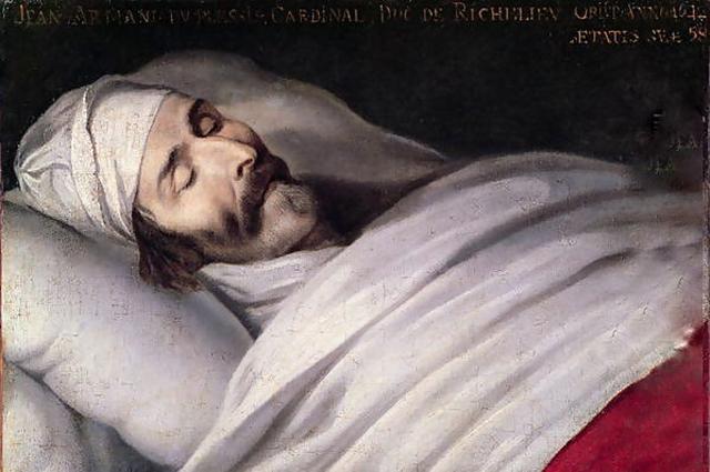 Ришелье на смертном одре, Филипп де Шампань