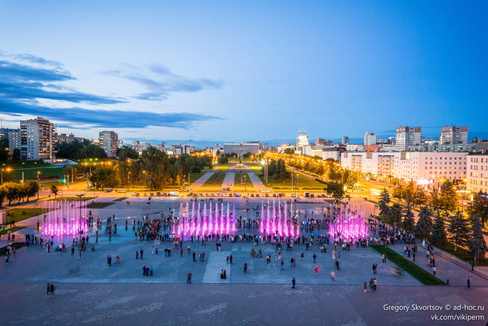 В Перми молодой исследователь снял панорамы почти со всех высотных домов города.