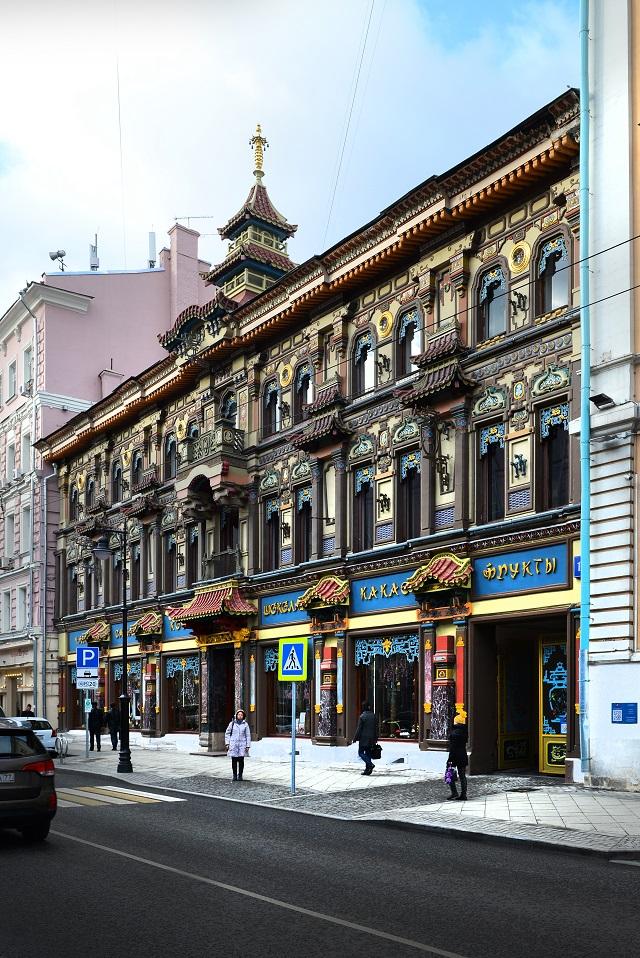 Кусочек Китая в Москве - знаменитый Чайный дом.