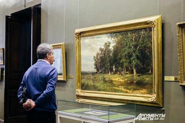 В музее ИЗО открылась выставка полотен Ивана Шишкина, здесь есть и малоизвестные работы.