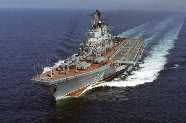 Тяжелый авианесущий крейсер «Новороссийск».