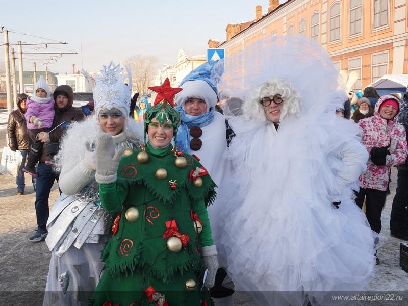 «Алтайская зимовка» в Барнауле