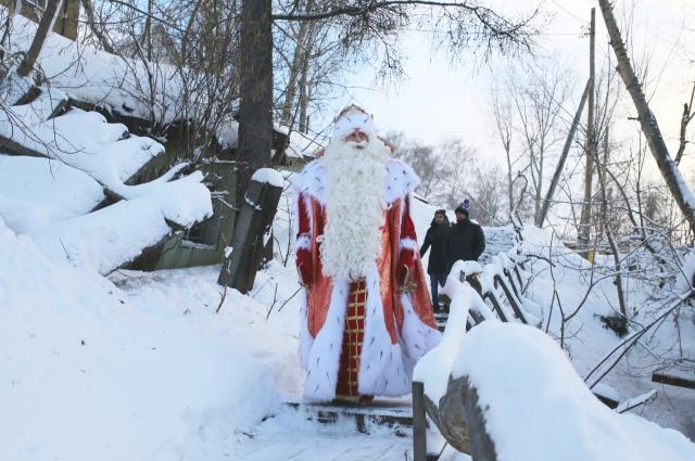Дед Мороз побывает в 28 городах страны.