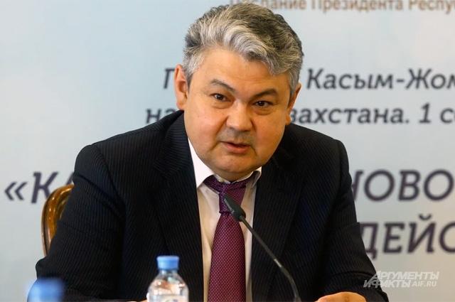 Посол Казахстана в России Ермек Кошербаев.
