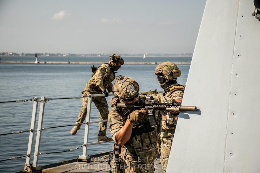 Украинский спецназ.