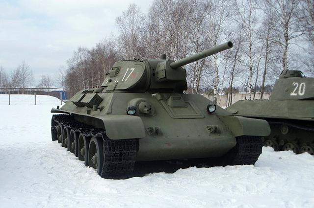 Советский средний танк Т-34 (выпуск 1941 года)