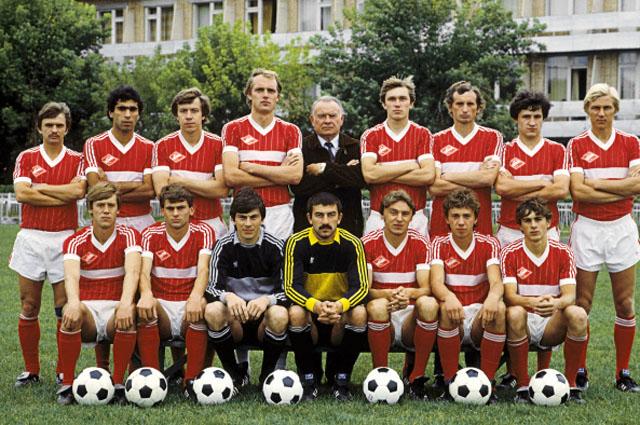 Константин Бесков и «Спартак» в 1985 году.